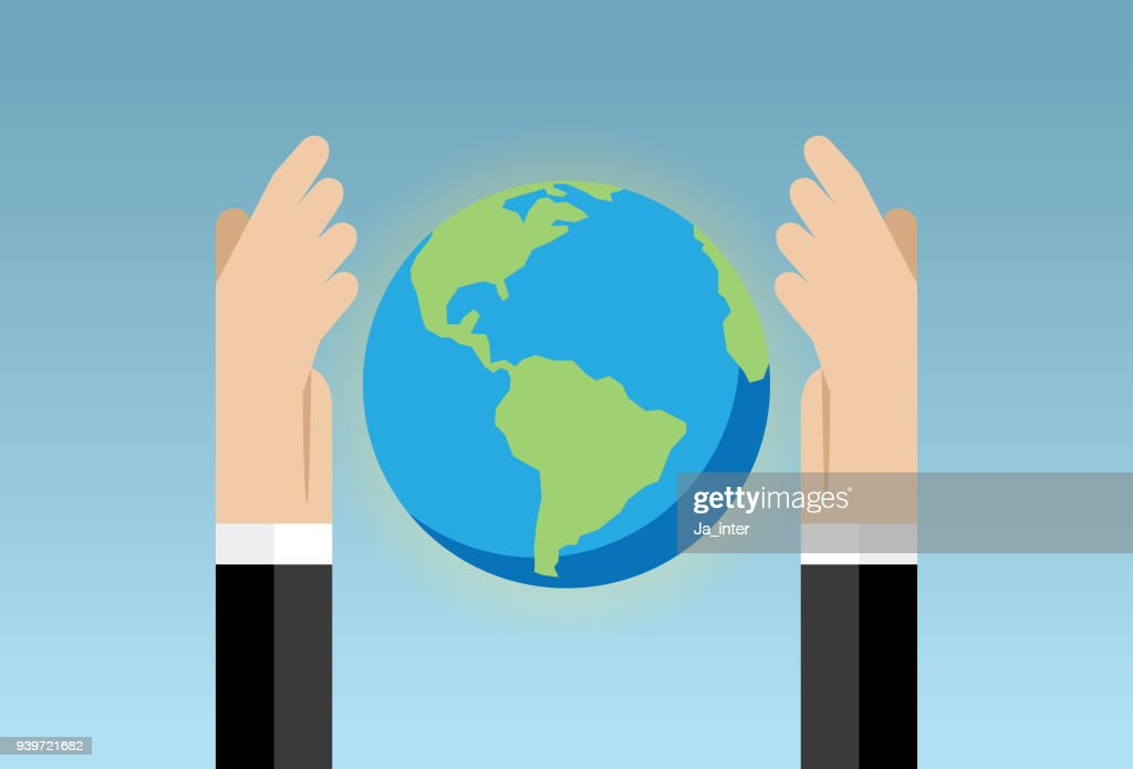 Global Warming And Save The Earth Vector Art Getty Images
