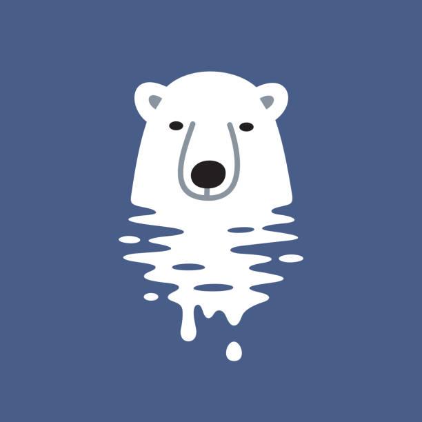 global warming design - melting stock illustrations