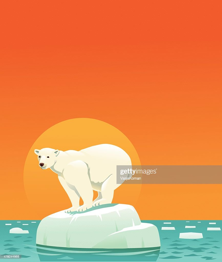 global warming with copyspace