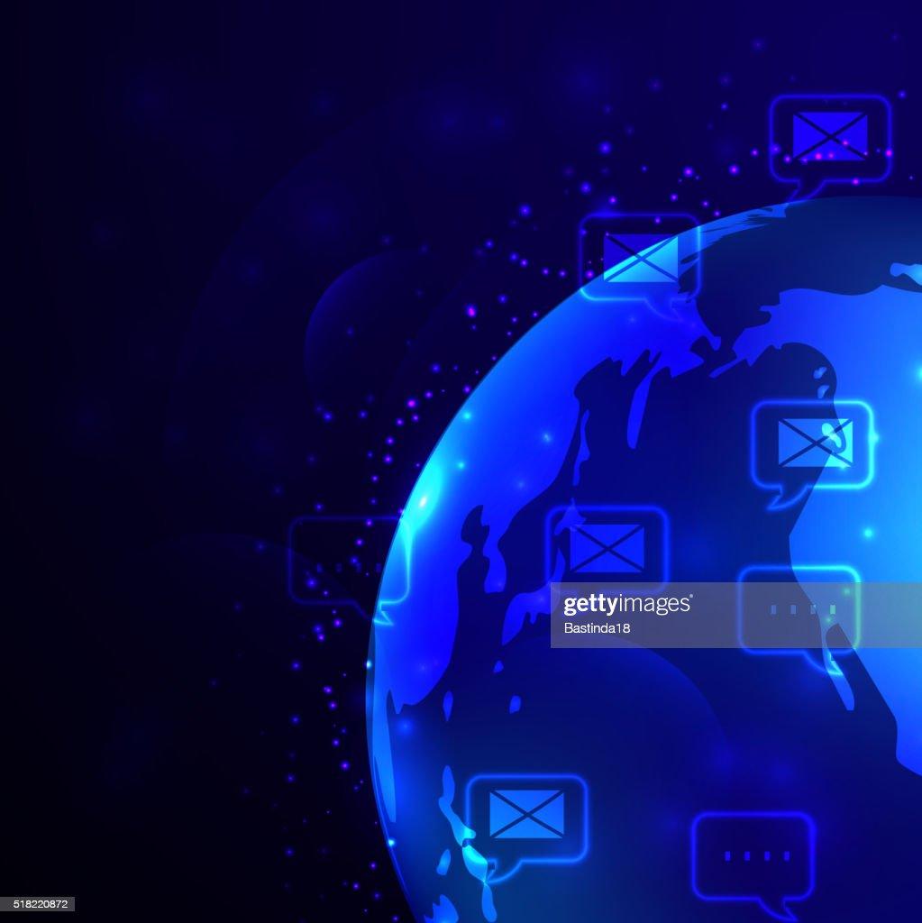 Globe and phone receivers