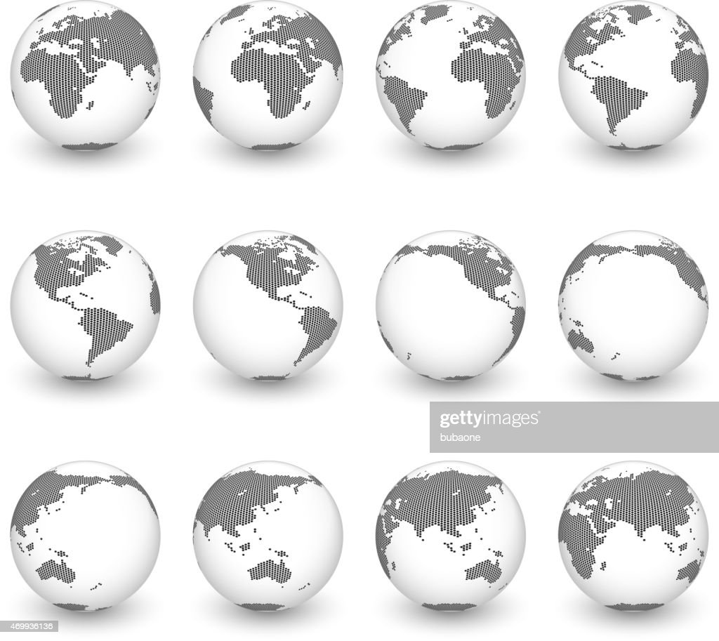 Globe icon set vector world map vector art getty images globe icon set vector world map vector art gumiabroncs Gallery