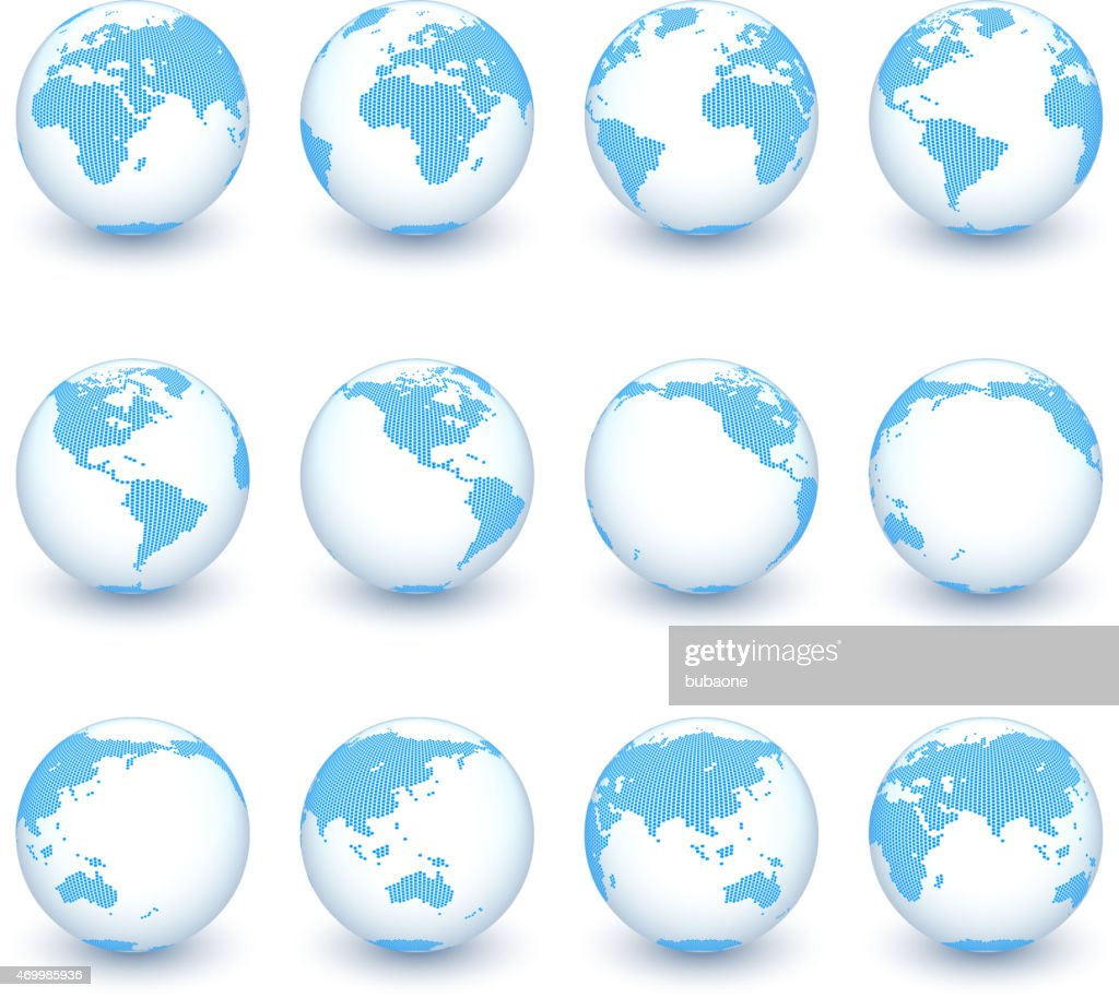 Globe icon set vector world map vector art getty images globe icon set vector world map vector art gumiabroncs Gallery