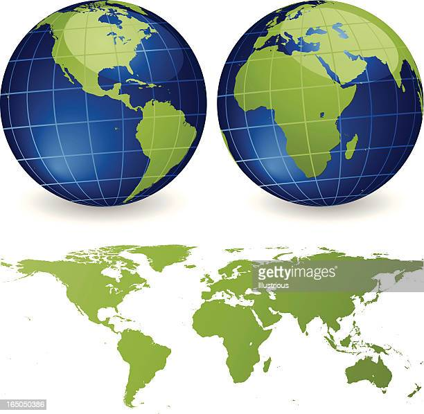 世界マップシリーズを設定します。