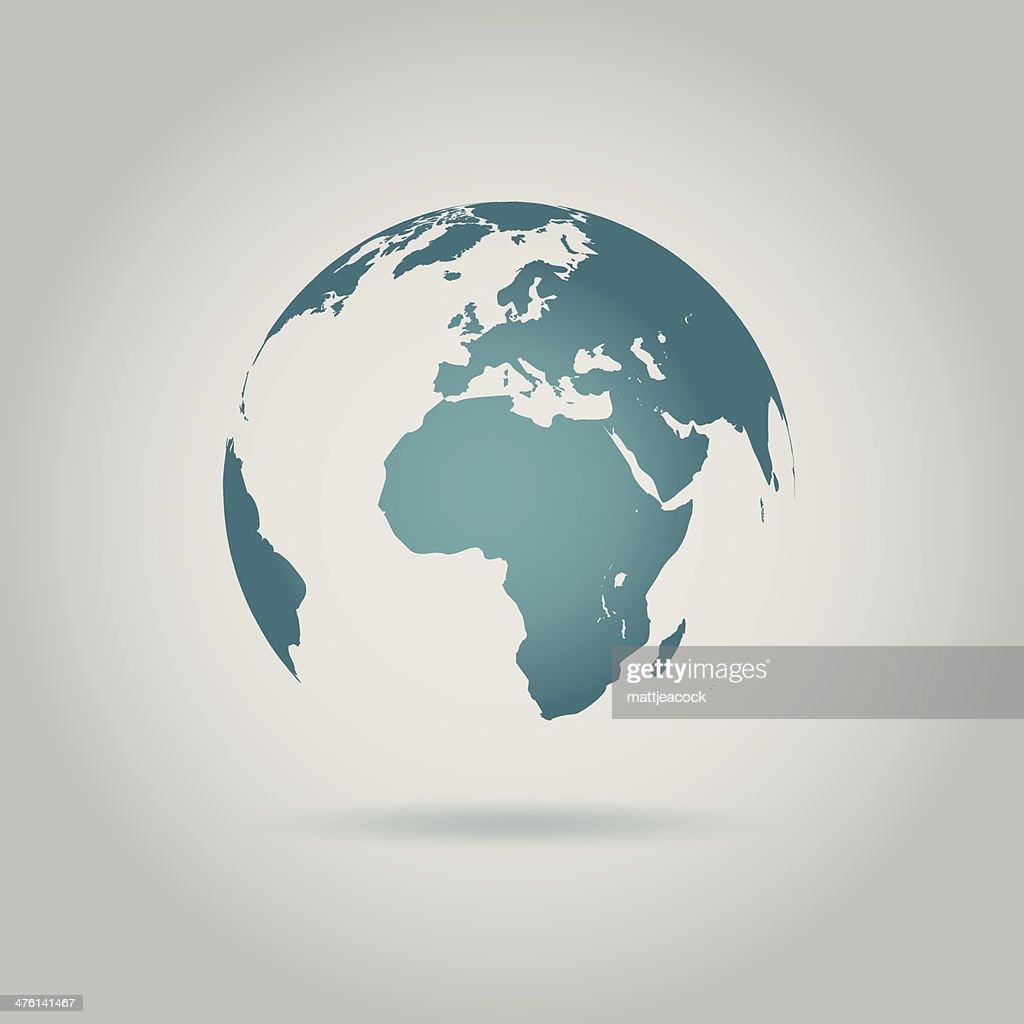 Globe : stock illustration