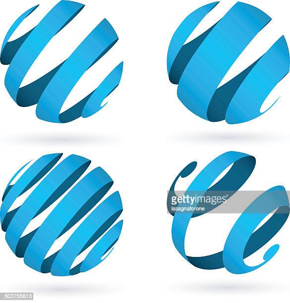 welt-kugel - kugelform stock-grafiken, -clipart, -cartoons und -symbole