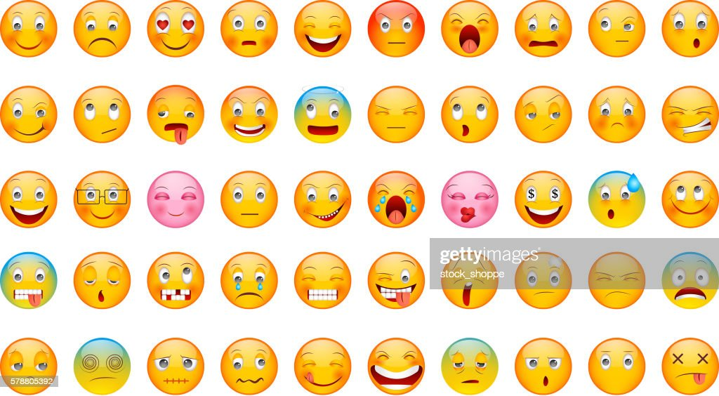 Glossy Emoticon Collection