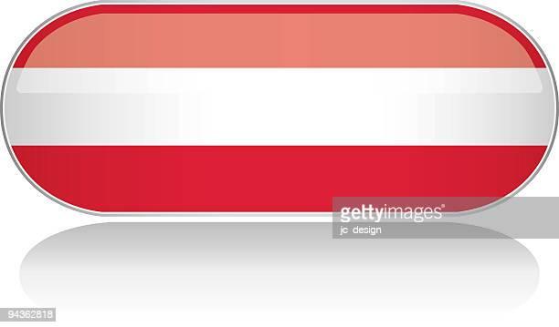 Glänzende Flagge-Österreich Serie