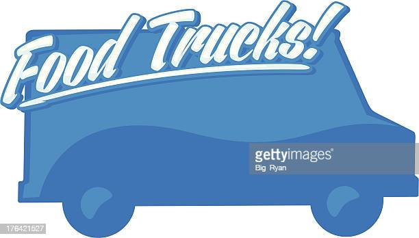 glossy food truck graphic