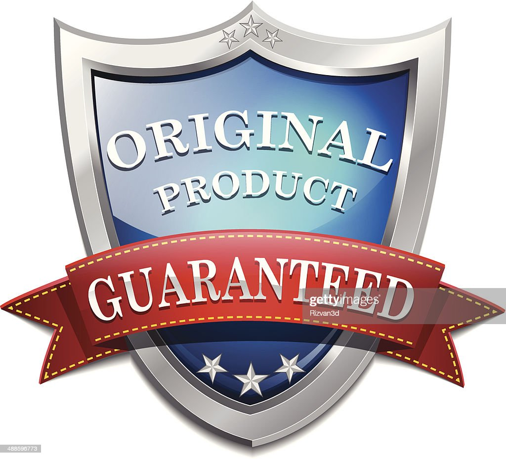 Glossy Guarantee Shiny Shield Icon