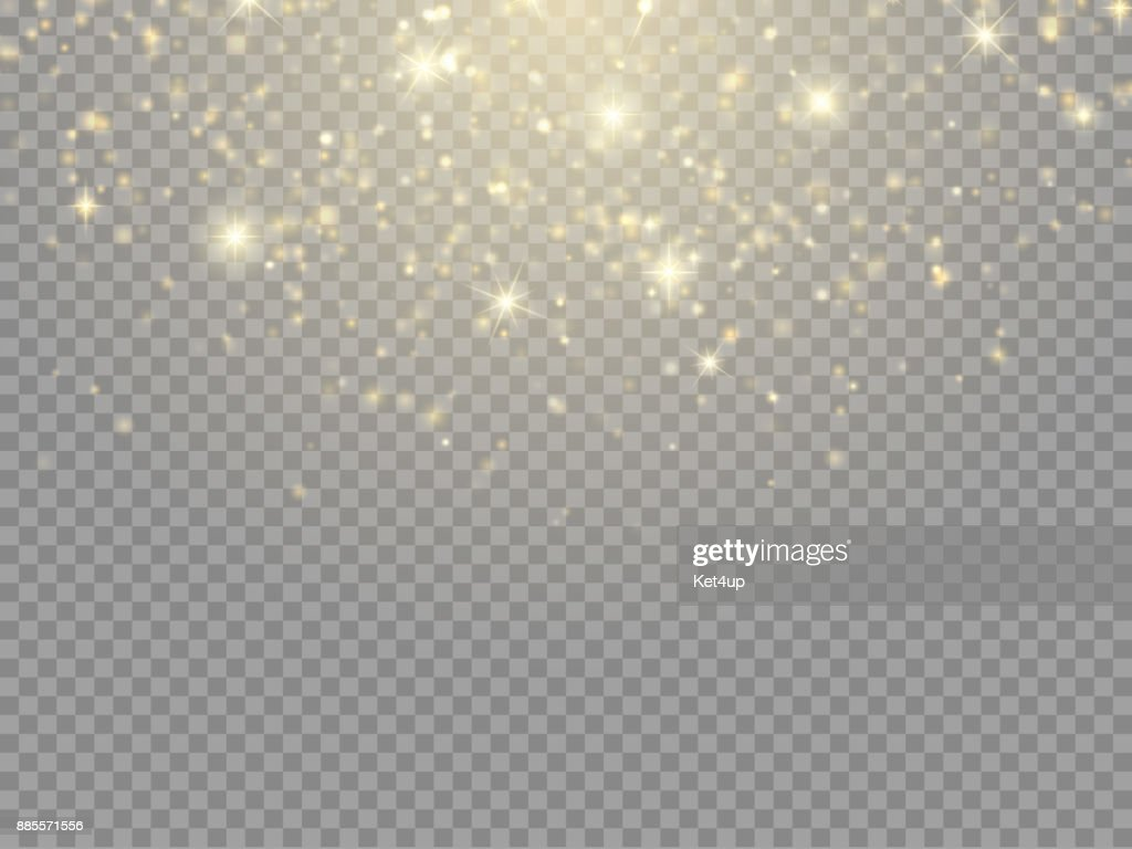 Glow light effect. Vector Christmas flash Concept