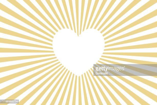 illustrazioni stock, clip art, cartoni animati e icone di tendenza di cuore incandescente - speranza