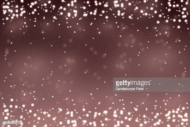 glowing particles background - brown background stock illustrations