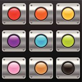 Glowing Power Buttons