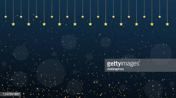 glowing sparkling particles background - magical equipment stock illustrations, clip art, cartoons, & icons