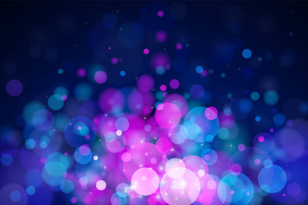 glowing vector blurred background. - bubble stock illustrations