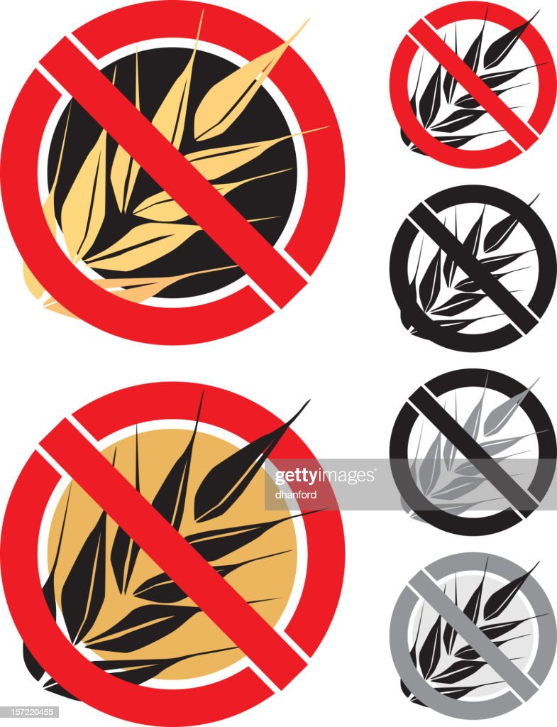 Gluten Free Icon stock illustration - Getty Images
