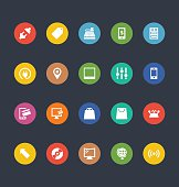 Glyphs Colored Vector Icons 4