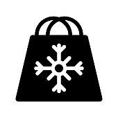 SHOPPING BAG Glyphs Icons