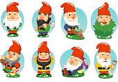 Gnome Garden Set