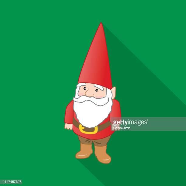 gnome icon - gnome stock illustrations