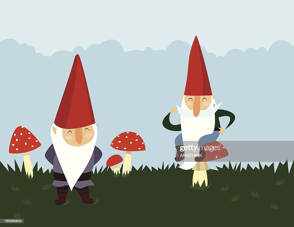 Gnomes in the Garden