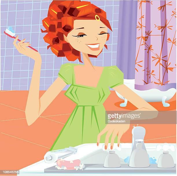 ilustraciones, imágenes clip art, dibujos animados e iconos de stock de va el verde: cerrar el grifo del dinero - bañera con patas