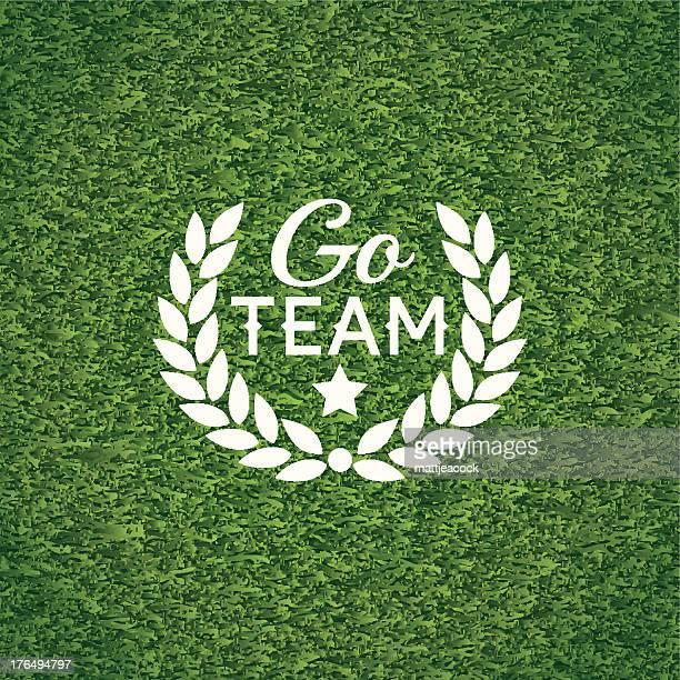 Go team banner
