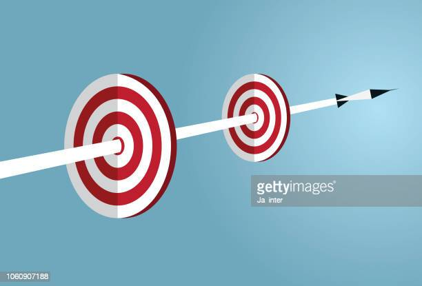 go to target - incentive stock illustrations, clip art, cartoons, & icons