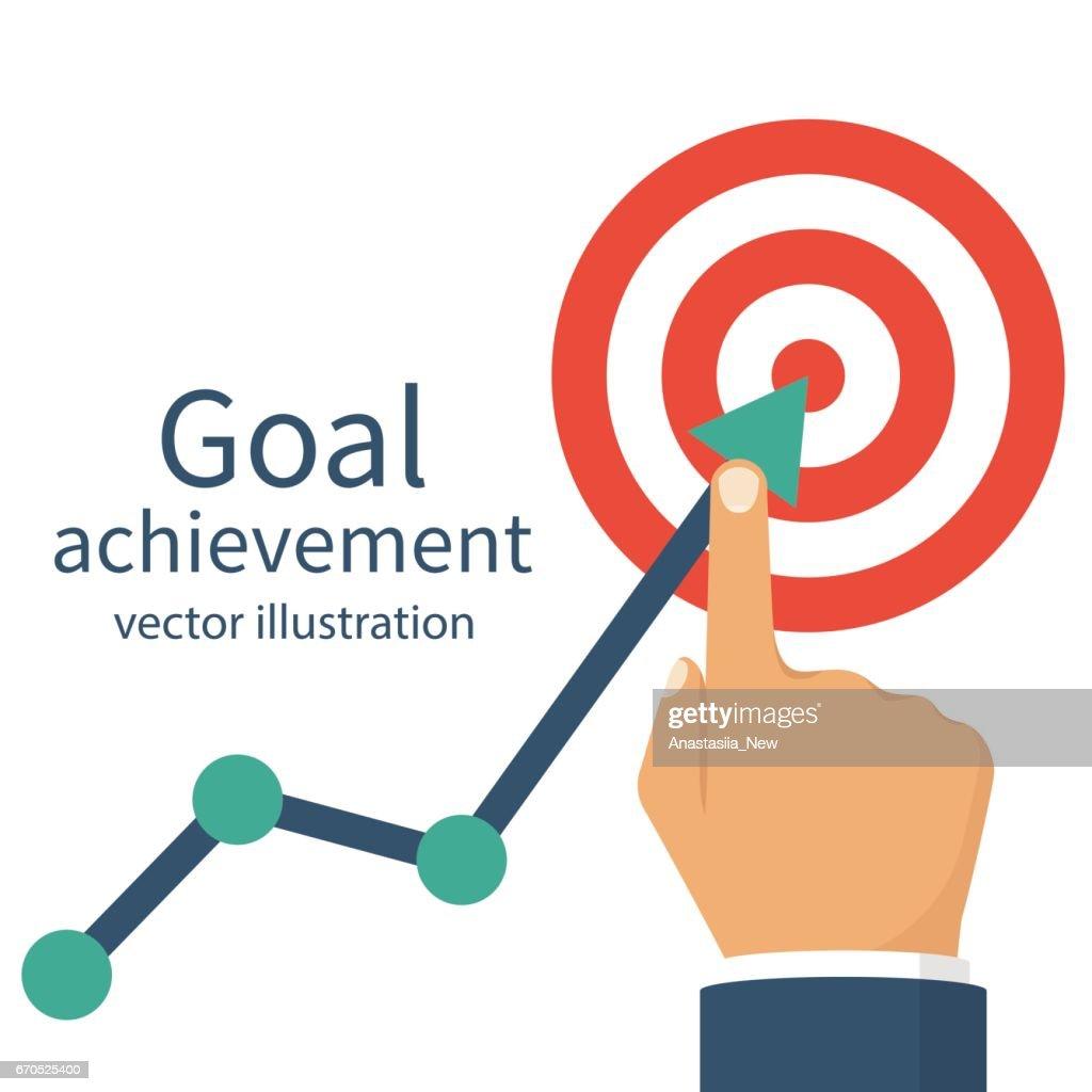 Goal Achievement Ambition Business Vector Art