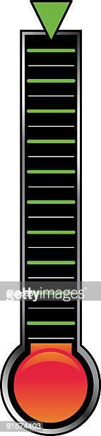 目標インジケータバー - clip art点のイラスト素材/クリップアート素材/マンガ素材/アイコン素材