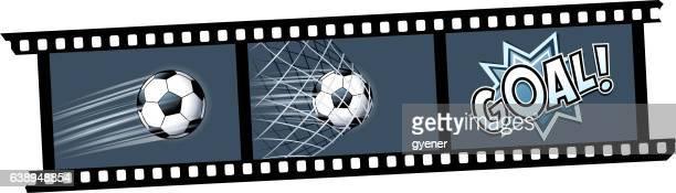 ilustraciones, imágenes clip art, dibujos animados e iconos de stock de goal photo - marcar términos deportivos