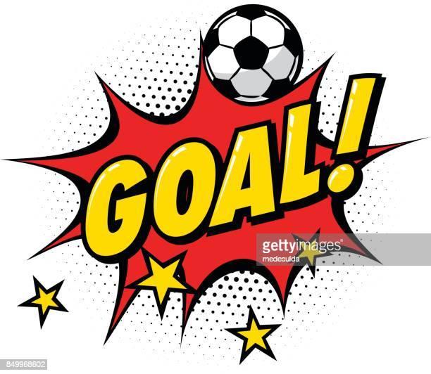 goal sign - team sport stock illustrations