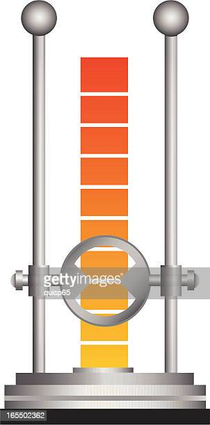 goal/fundraising indicator - fundraising stock illustrations