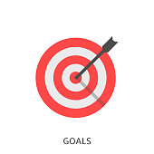 Goals icon Vector