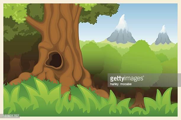 goblin grove - crag stock illustrations, clip art, cartoons, & icons