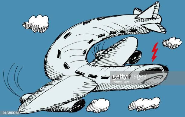 空港に戻る - テロリズム点のイラスト素材/クリップアート素材/マンガ素材/アイコン素材