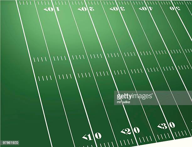 1 788 Football Field High Res Illustrations Getty Images