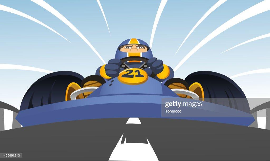 Go-Kart perspective