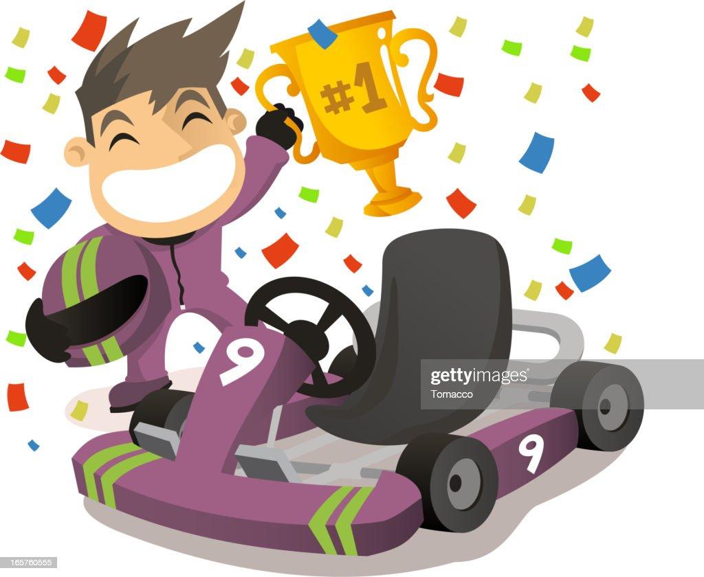 Go-kart winner