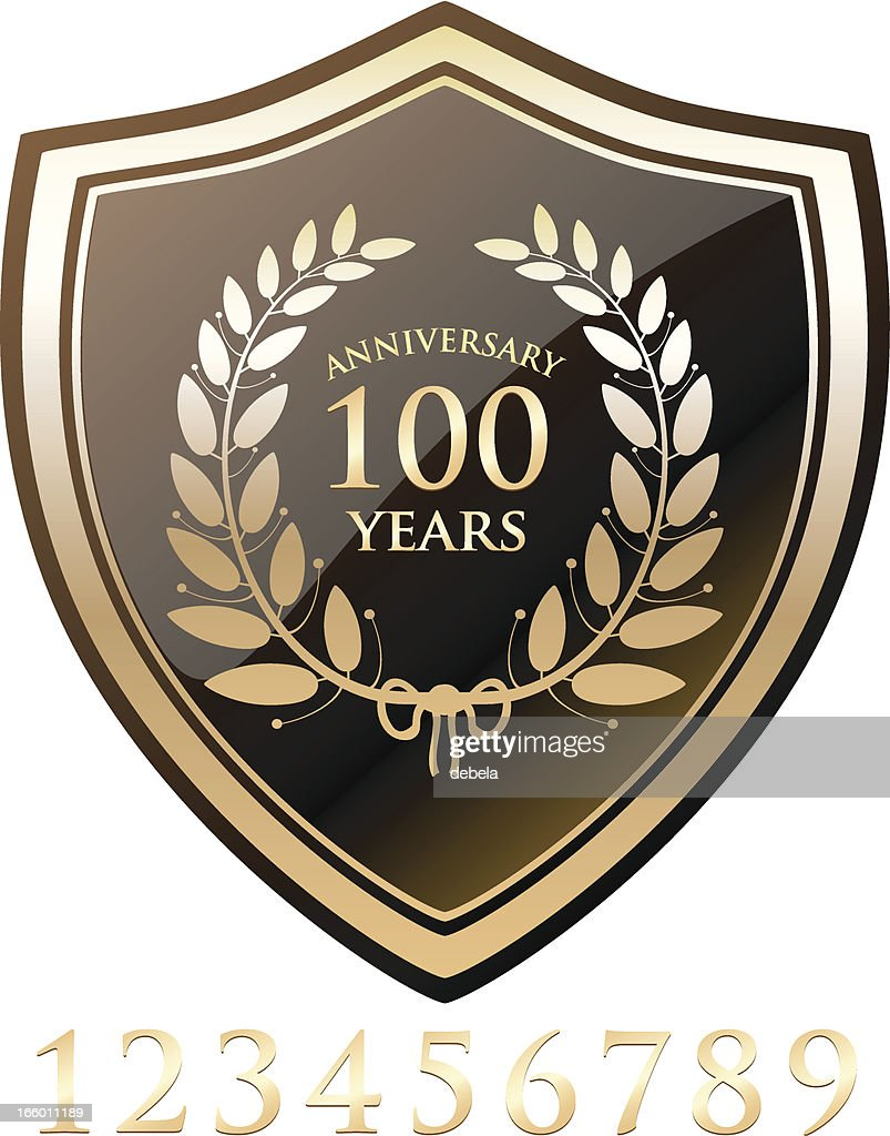 Gold Anniversary Shield