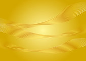 Gold background line background material