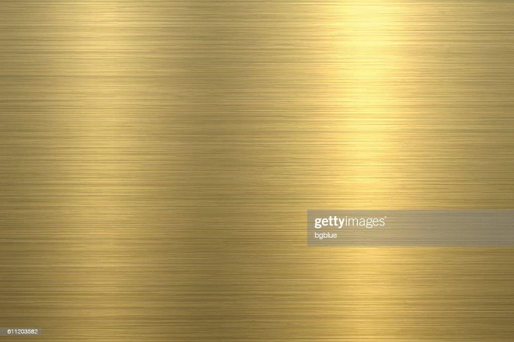 Gold Background - Metal Texture : Stock-Illustration