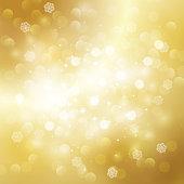 Gold blurred background