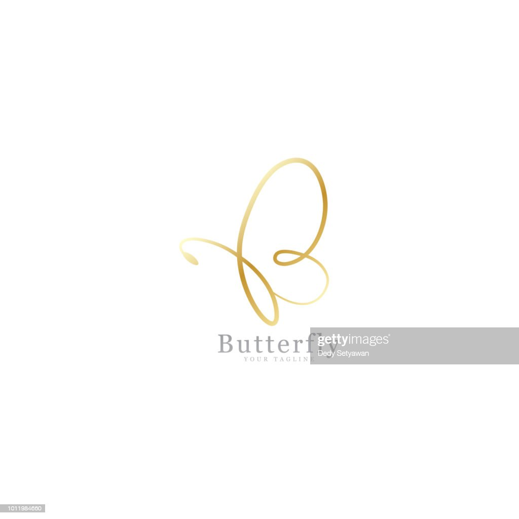 Gold butterfly signature
