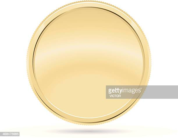 gold coin, medal - change stock illustrations