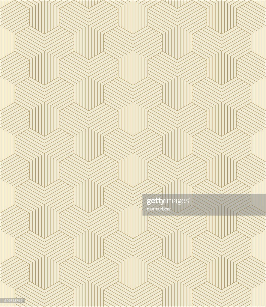 gold colored geometrical outlines