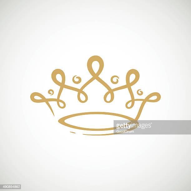 60点の王冠のイラスト素材クリップアート素材マンガ素材アイコン