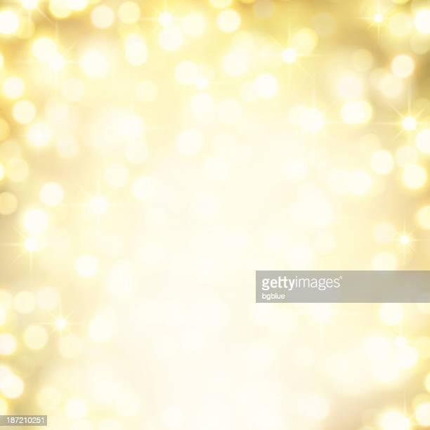 gold defocus lights - sparks stock illustrations