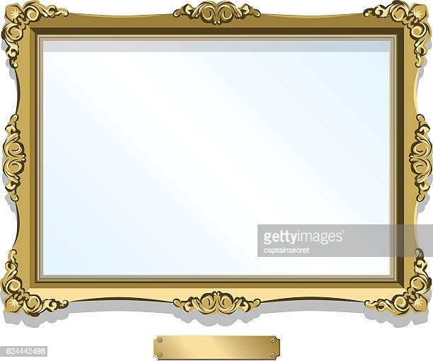Antique Picture Frame Stock Illustrations And Cartoons | Getty Images