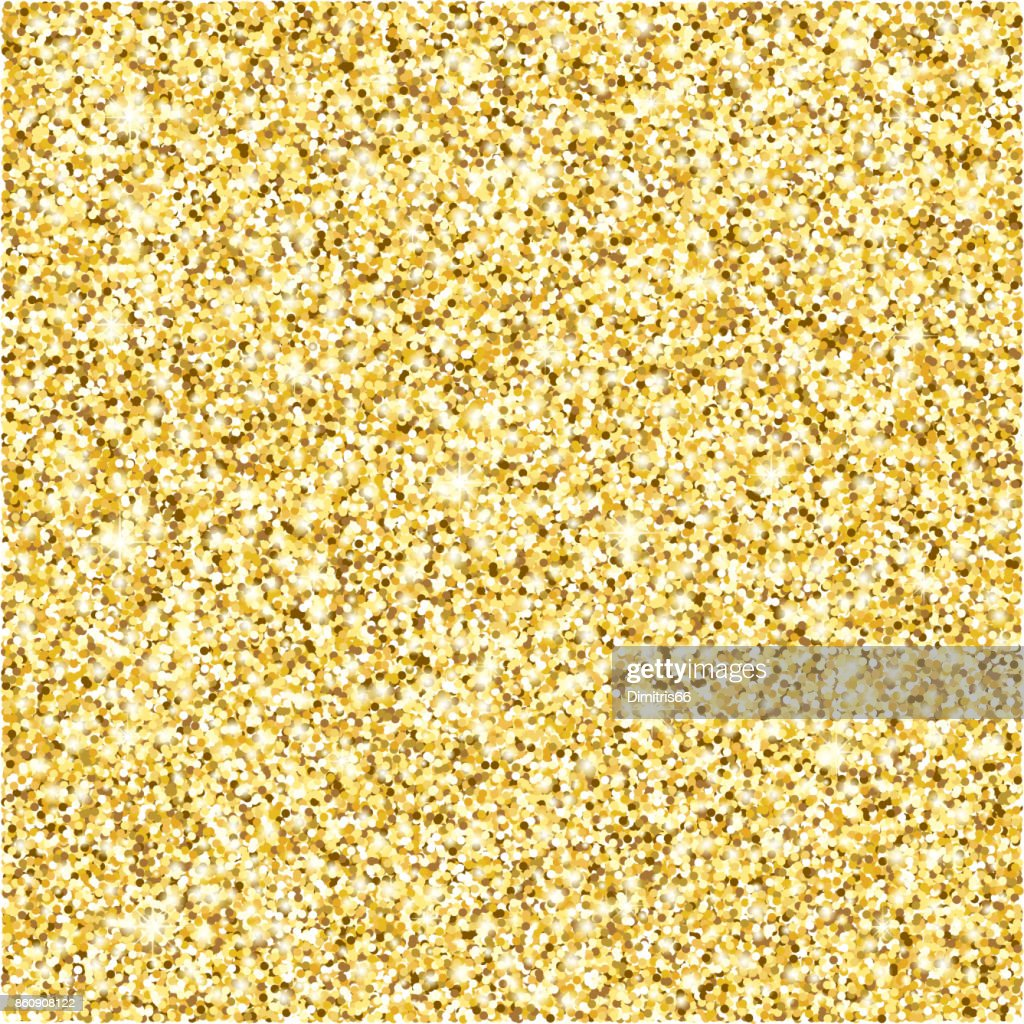 Gold glitter texture vector background